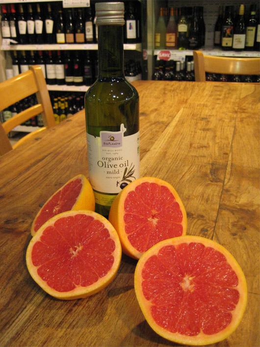 organic olive oil mild grapefruit