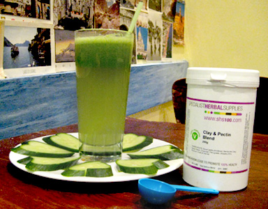 Herbal Supplements and Juice