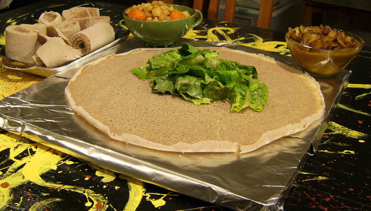 Injera by Serene Vannoy on flickr