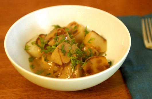 Turnips in mustard sauce by mollyjade